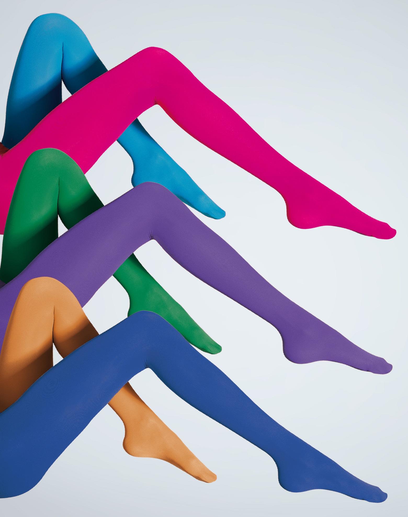 Resultado de imagen de medias tupidas de colores