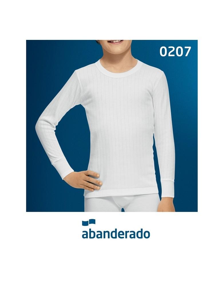 f81c767a223e4 Camiseta Abanderado Niño 207 - Camisetas - Tiendas lenceria