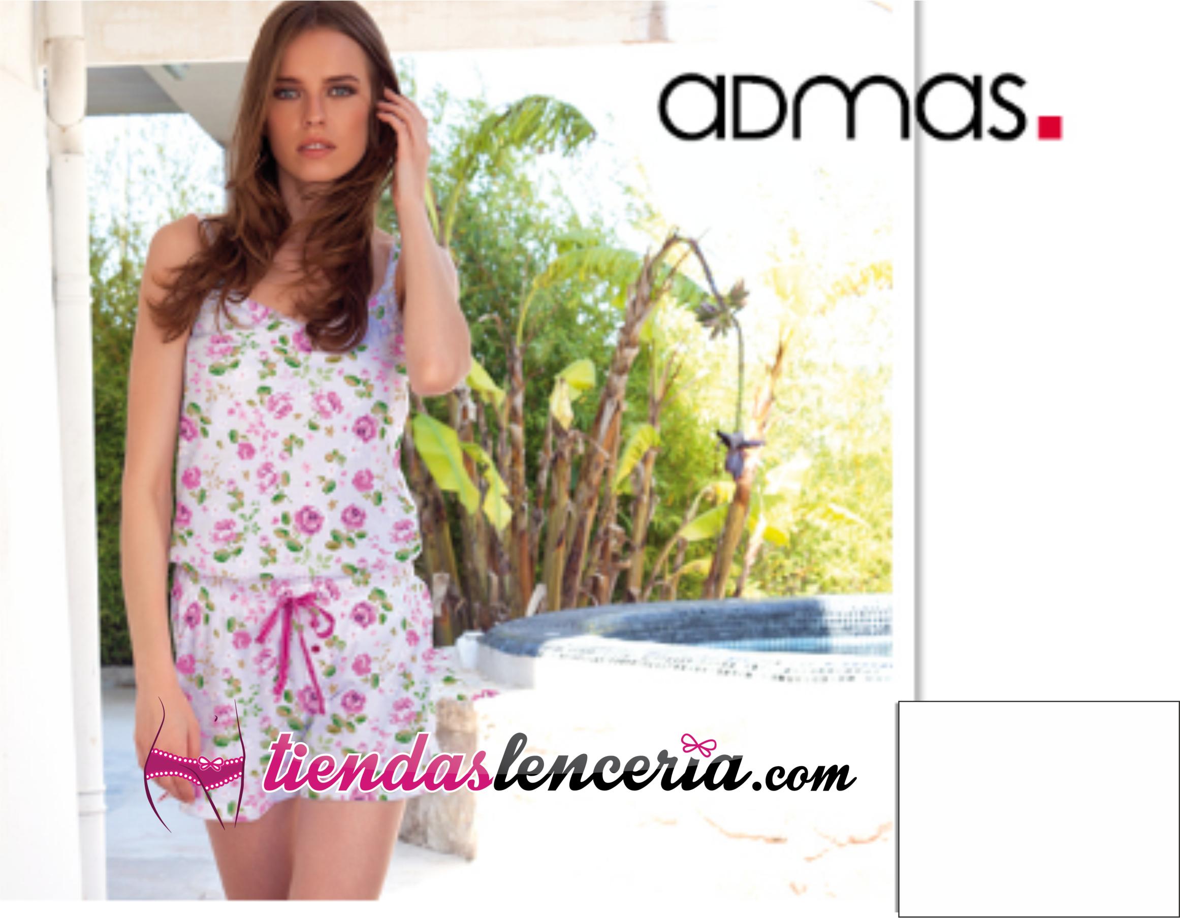 31733c0dae8d Mono Admas Estampado Flores - Pijamas y Batas Mujer - Tiendas ...