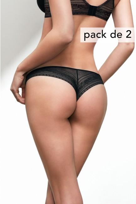 cf9cdfbfed0e Pack de 2 Brasileña Perfect Gisela - Bragas y Tangas - Tiendas ...