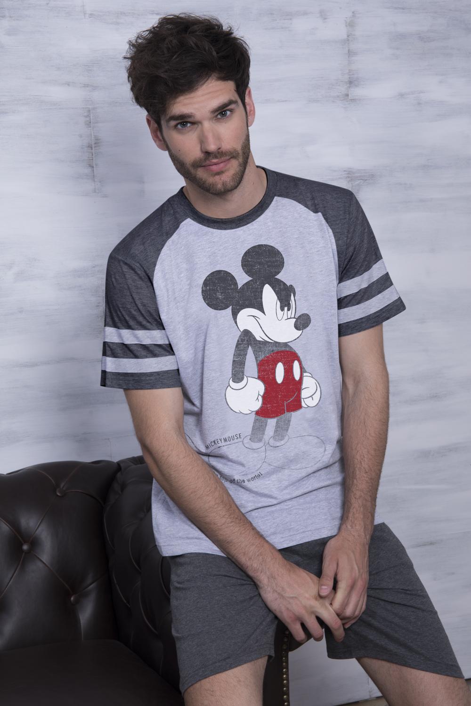Mickey Mouse Hombre Pijama Corto