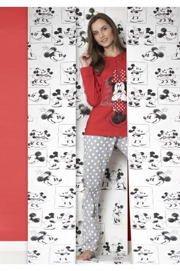 cc05ce0f8 Pijama Minnie Mujer - Pijamas y Batas Mujer - Tiendas lenceria