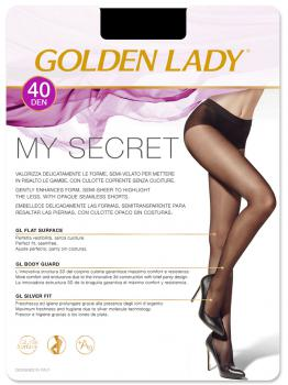 Panty Golden Lady Sin costuras My Secret 40