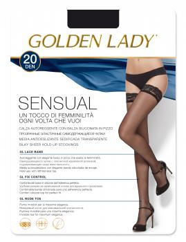 Media Antideslizante Golden Lady Sensual