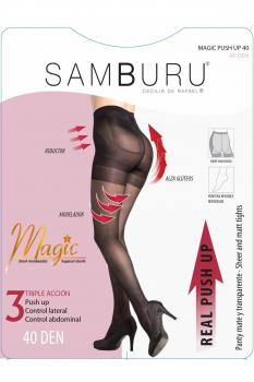 Panty Push Up Reductor 40Den Samburu