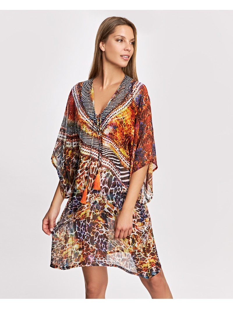 Kaftan Ory Animal Print
