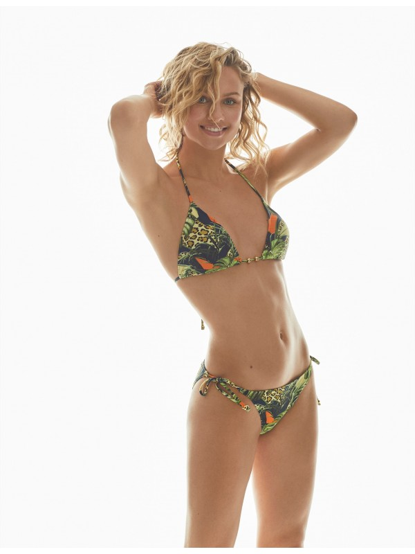 Bikini Promise Triangular Estampado Tropical
