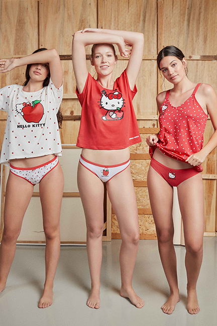 Pack 3 bragas Hello Kitty