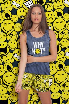 Pijama Verano Smiley World