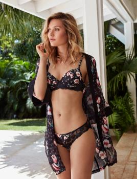 Conjunto Push-up Luxury Estampado Floral